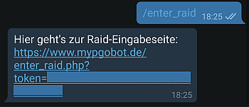Instructions for the EnterRaid bot
